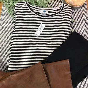 Women's old navy striped top